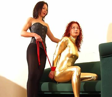 spandex slave
